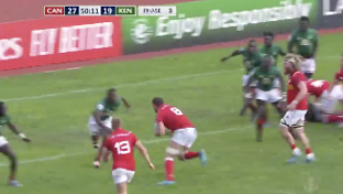 Rugby World Cup 2019 Repechage: Ardron scores for Canada