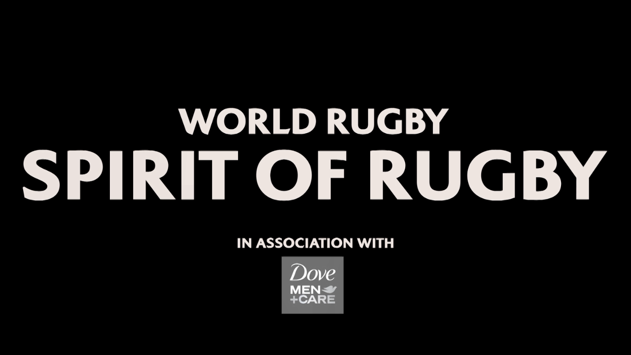 World Rugby Spirit Of Rugby Award in association with Dove Men + Care