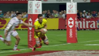 Try, Lachie Anderson, Eng V AUS