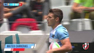 Try, MATEO CARRERAS, ARGENTINA v Spain