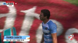 Try, FRANCO SABATO, ARGENTINA v Japan