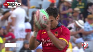 Try, FRANCISCO HERNANDEZ, SPAIN v Japan