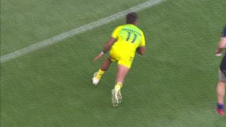 TOP Try, MAURICE LONGBOTTOM, AUSTRALIA v Scotland