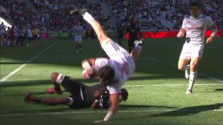 Try, Danny Barrett - Nzl V USA
