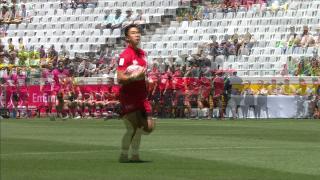 Try, Nathan Hirayama - CAN V Zim