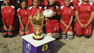 2,500 people 'Get Into Rugby' in Nepal as World Rugby's 'Asia 1 Million' Impact Beyond target edges...