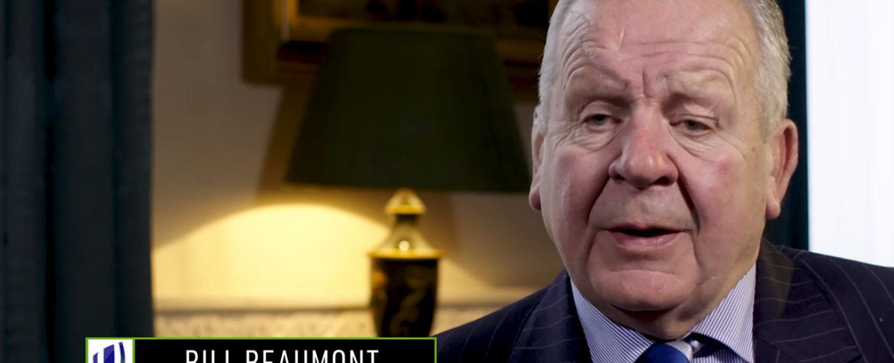 Bill Beaumont discusses success of Impact Beyond