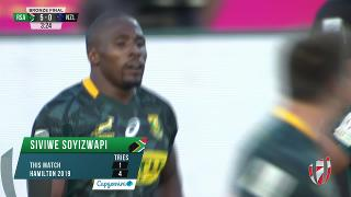 Try, Siviwe Soyizwapi, SOUTH AFRICA V NEW ZEALAND