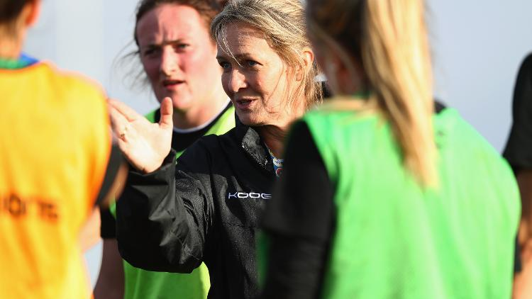 Barbarian's Women's coach Giselle Mather