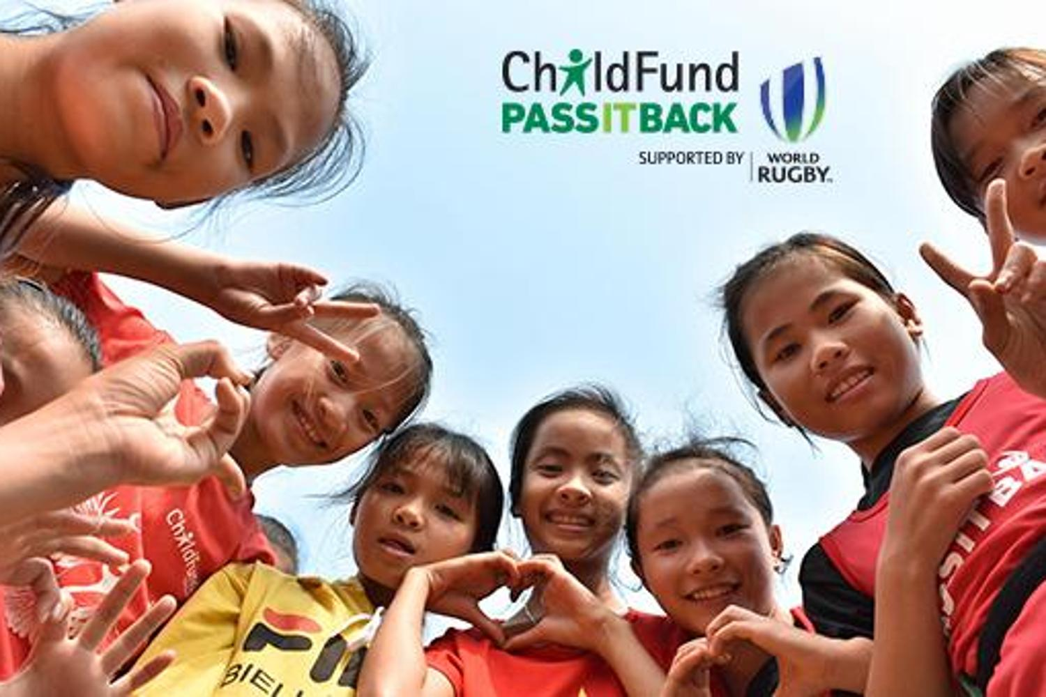 ChildFund Pass It Back Launch - branded photo