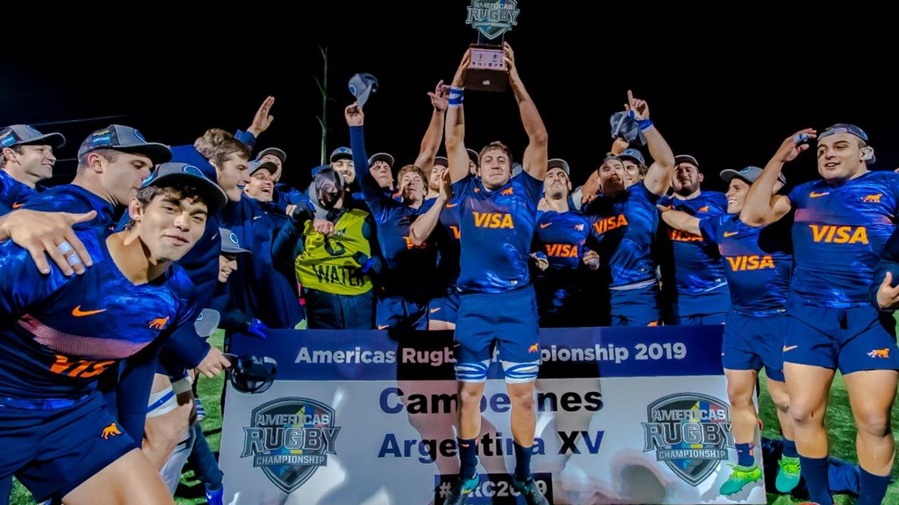 Argentina XV win Americas Rugby Championship