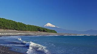 三保松原からの富士(高画質)