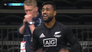 Try, Jona Nareki - NZL v Eng