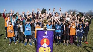 Webb Ellis Cup inspires the next generation in Canada