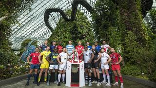 HSBC Rugby Sevens Singapore - Captains' Photocall